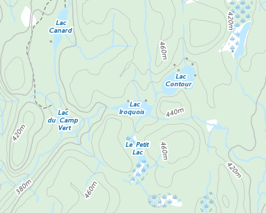 Place names - Lac Iroquois