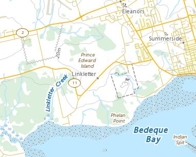 Place names - Linkletter