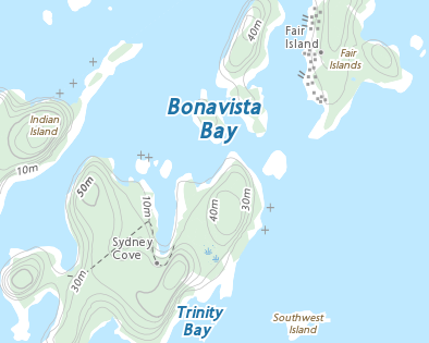 Place names - Dog Cove