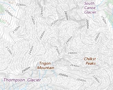 Place names - Trigon Mountain