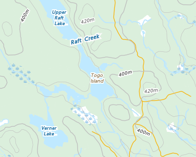 Place names - Togo Island