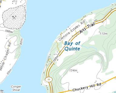 Place names - H.J. McFarland Conservation Area
