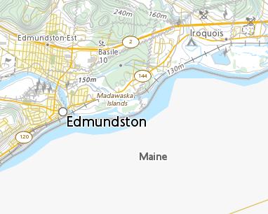Place Names Madawaska Islands